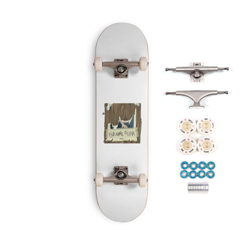 Her Name is Luna (Designed by The Unapologetic Artist) Accessories Complete - Premium Skateboard by Augie's Attic