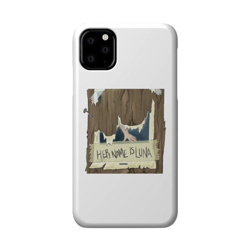 Her Name is Luna (Designed by The Unapologetic Artist) Accessories Phone Case by Augie's Attic