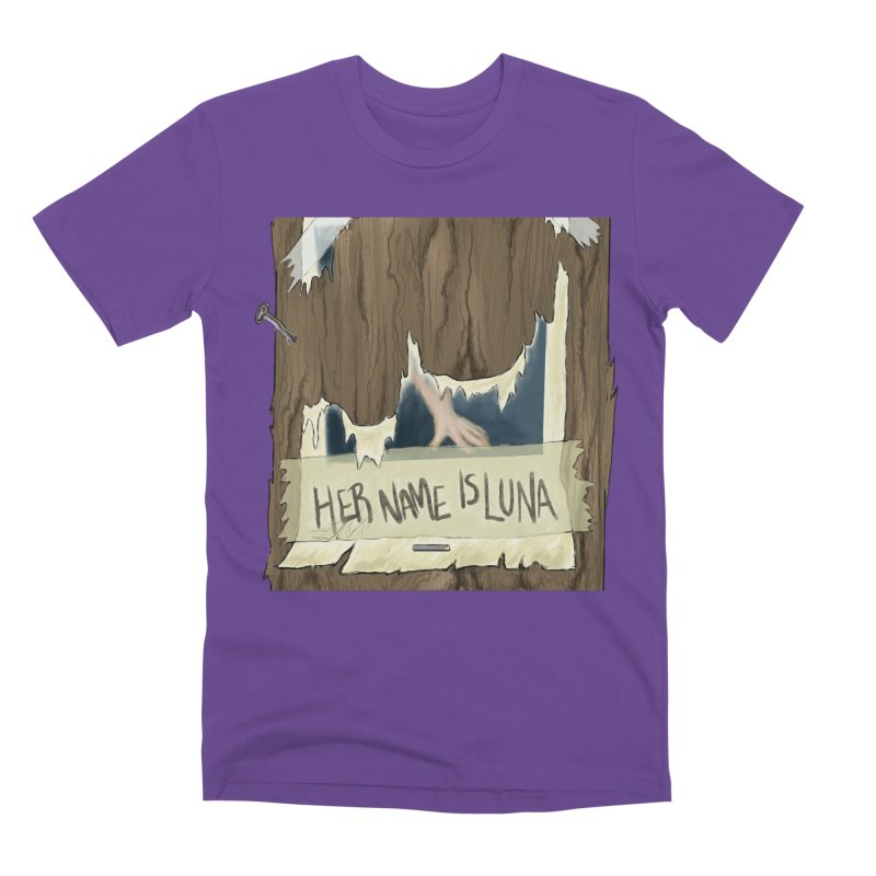 Her Name is Luna (Designed by The Unapologetic Artist) Men's Premium T-Shirt by Augie's Attic