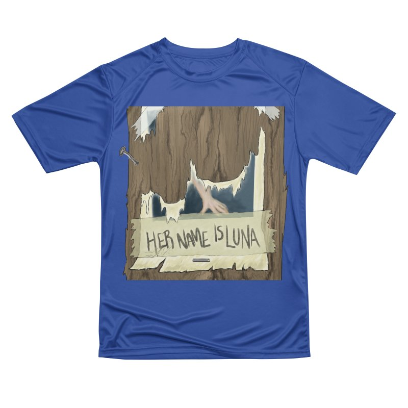 Her Name is Luna (Designed by The Unapologetic Artist) Men's Performance T-Shirt by Augie's Attic