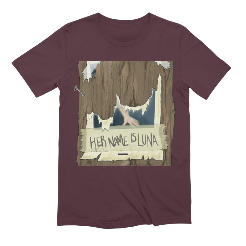 Her Name is Luna (Designed by The Unapologetic Artist) Men's Extra Soft T-Shirt by Augie's Attic