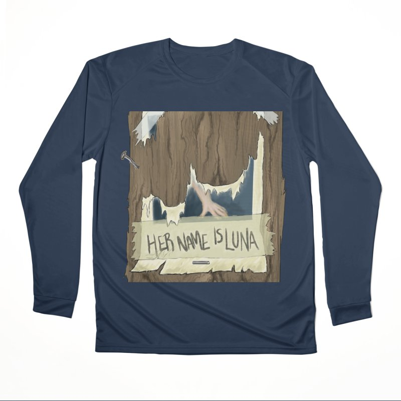Her Name is Luna (Designed by The Unapologetic Artist) Men's Performance Longsleeve T-Shirt by Augie's Attic