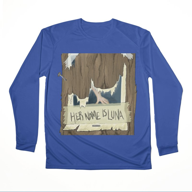 Her Name is Luna (Designed by The Unapologetic Artist) Women's Performance Unisex Longsleeve T-Shirt by Augie's Attic