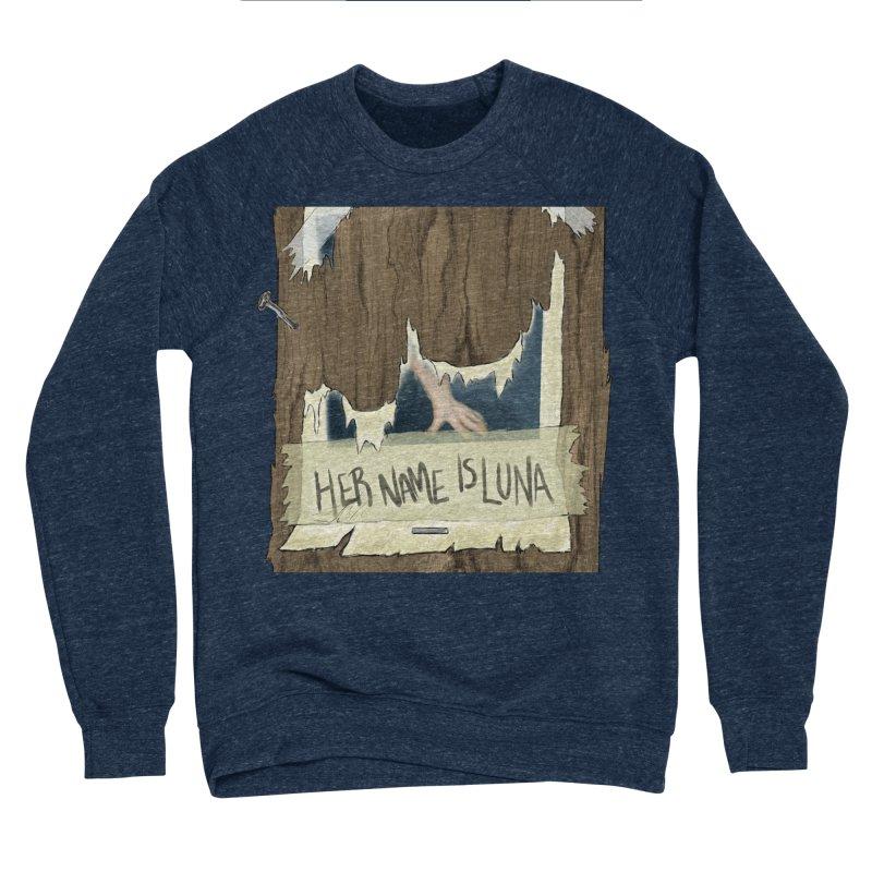 Her Name is Luna (Designed by The Unapologetic Artist) Men's Sponge Fleece Sweatshirt by Augie's Attic