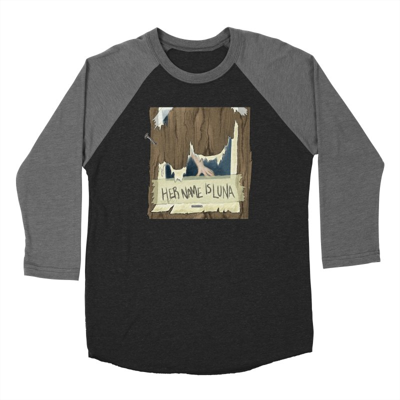 Her Name is Luna (Designed by The Unapologetic Artist) Men's Baseball Triblend Longsleeve T-Shirt by Augie's Attic