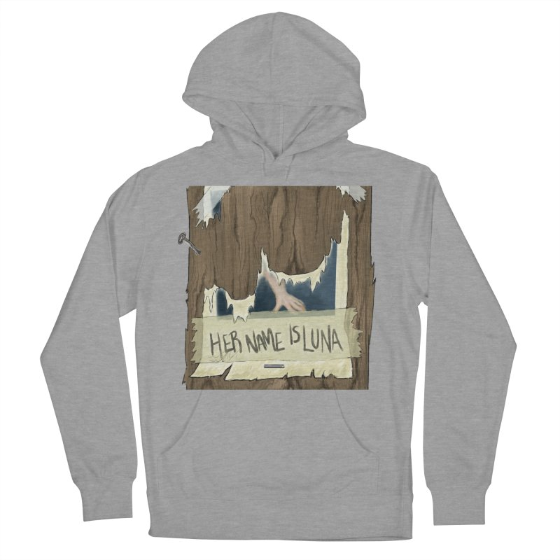 Her Name is Luna (Designed by The Unapologetic Artist) Women's French Terry Pullover Hoody by Augie's Attic