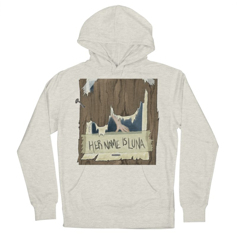 Her Name is Luna (Designed by The Unapologetic Artist) Men's French Terry Pullover Hoody by Augie's Attic
