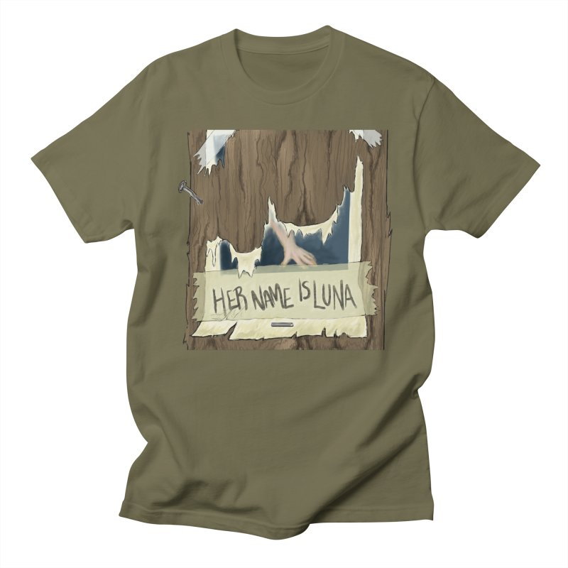 Her Name is Luna (Designed by The Unapologetic Artist) Women's Regular Unisex T-Shirt by Augie's Attic