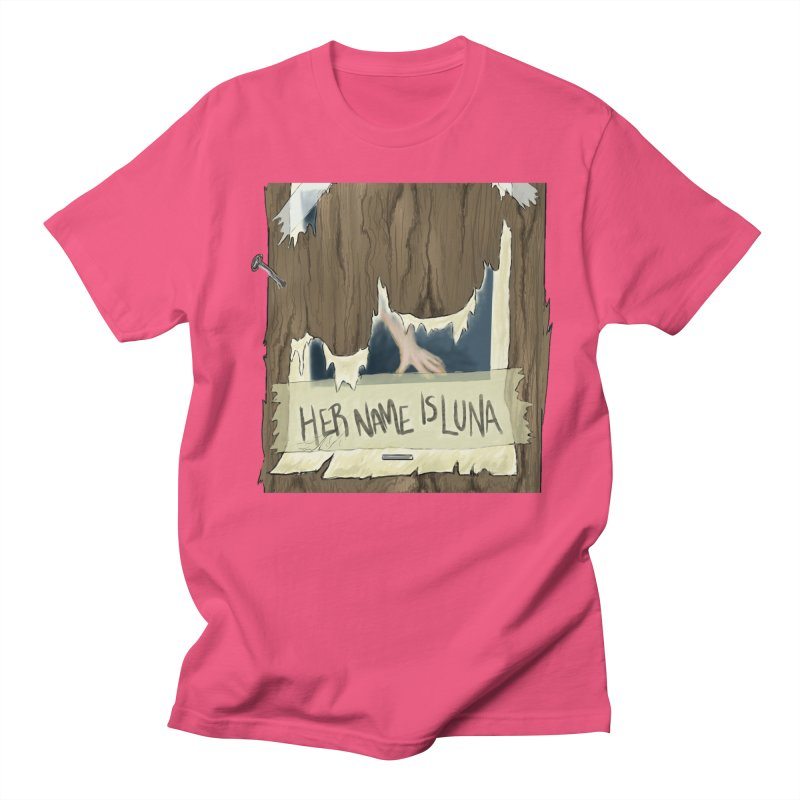 Her Name is Luna (Designed by The Unapologetic Artist) Men's Regular T-Shirt by Augie's Attic