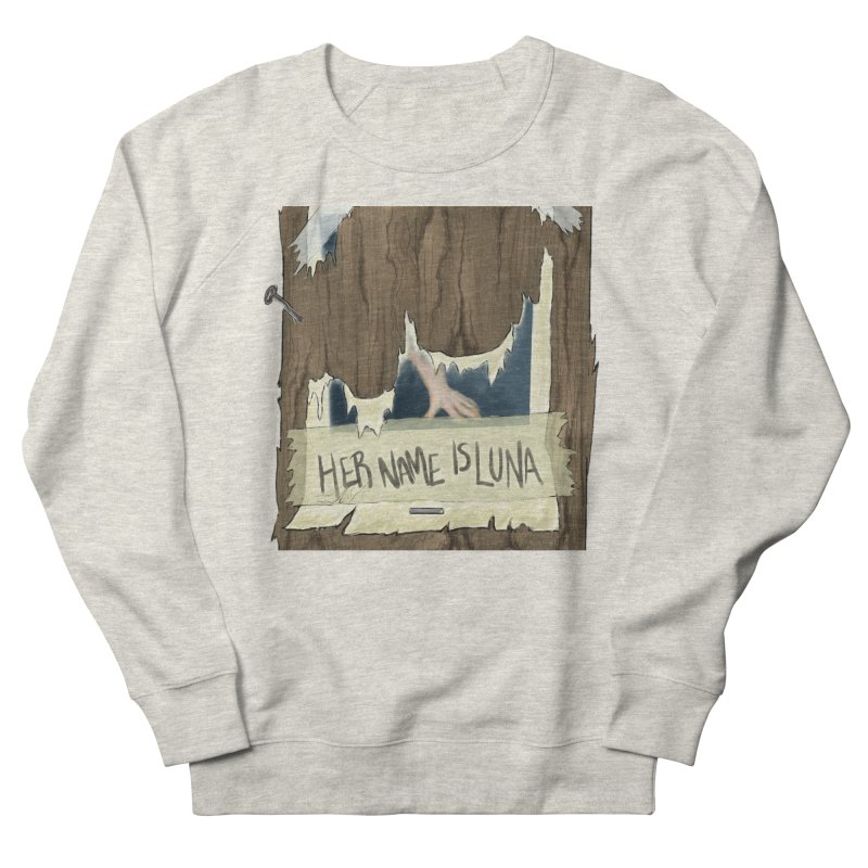 Her Name is Luna (Designed by The Unapologetic Artist) Men's French Terry Sweatshirt by Augie's Attic
