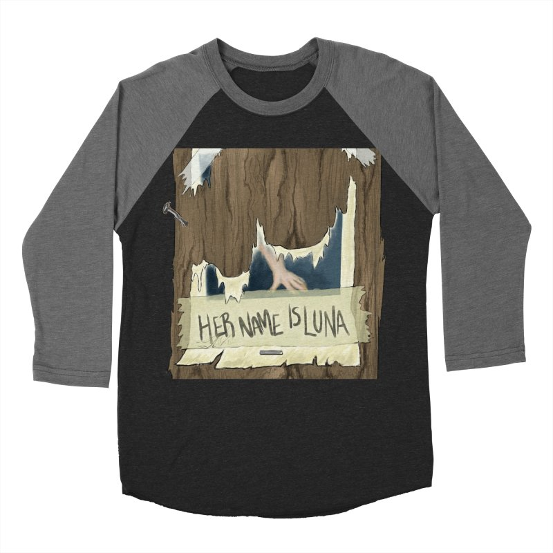 Her Name is Luna (Designed by The Unapologetic Artist) Women's Baseball Triblend Longsleeve T-Shirt by Augie's Attic