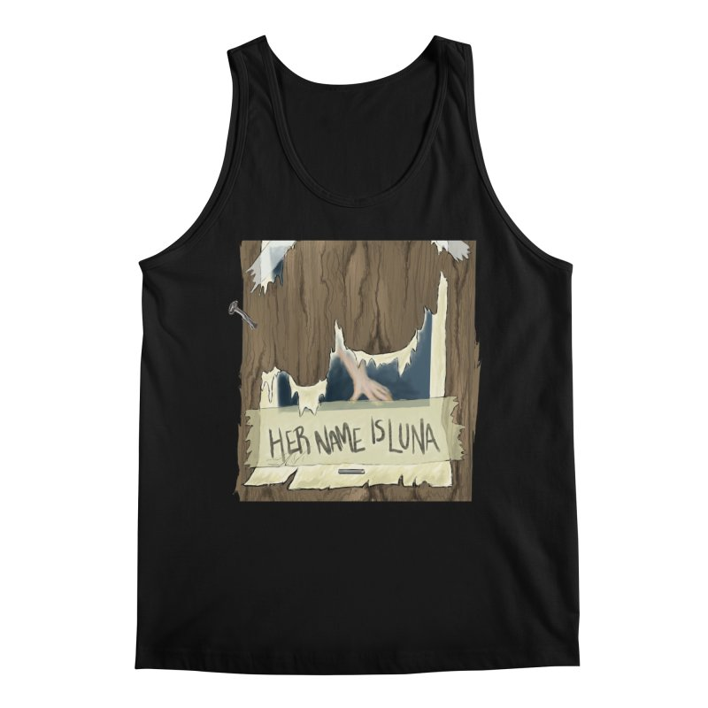 Her Name is Luna (Designed by The Unapologetic Artist) Men's Regular Tank by Augie's Attic