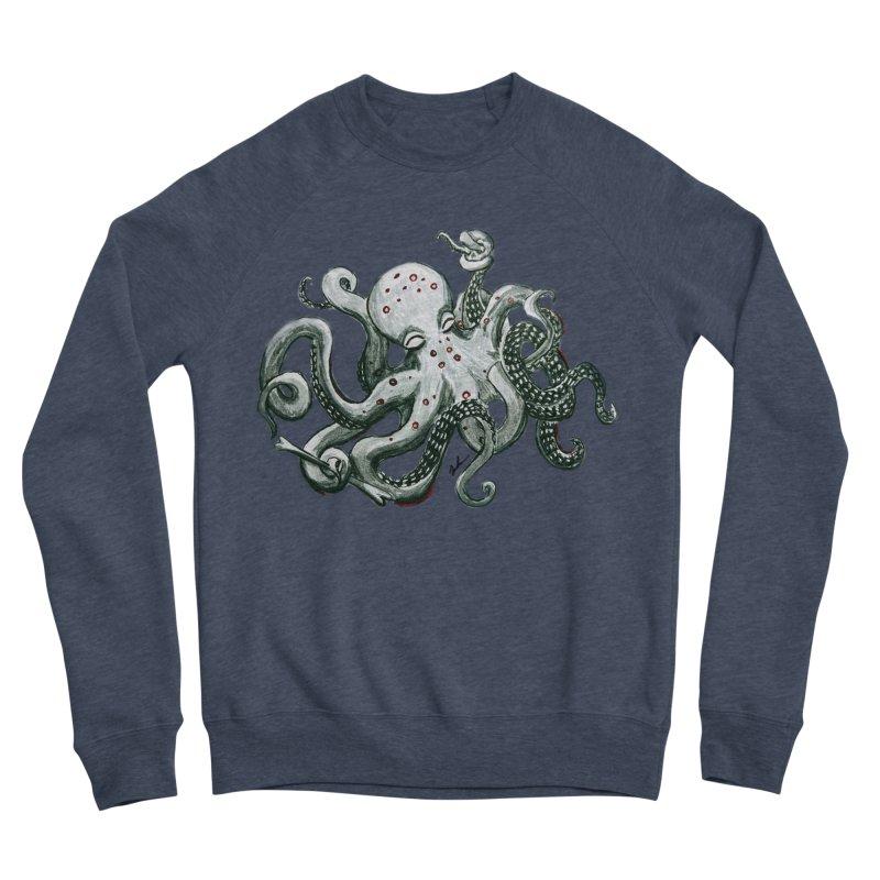 Deep Dive Octopus (Designed by Rogue Duck Studio) Men's Sponge Fleece Sweatshirt by Augie's Attic