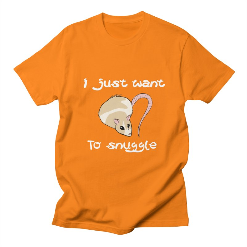 I just want to snuggle (dark colors) Men's Regular T-Shirt by Augie's Attic