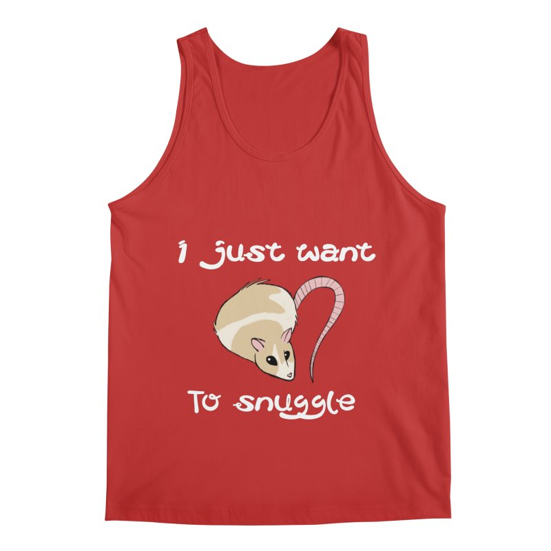 I just want to snuggle (dark colors) Men's Regular Tank by Augie's Attic