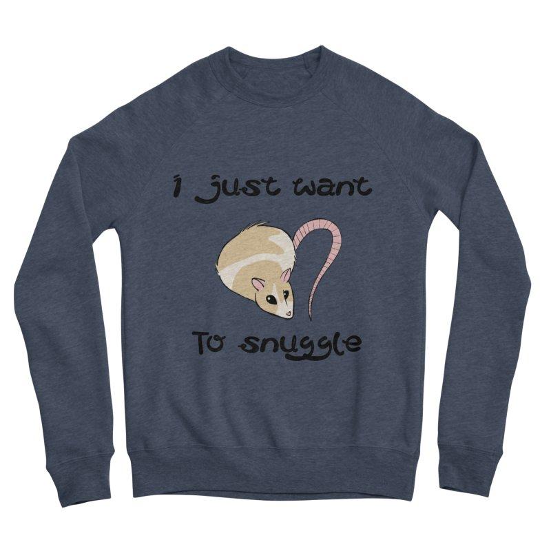 I just want to snuggle (light colors) Men's Sponge Fleece Sweatshirt by Augie's Attic
