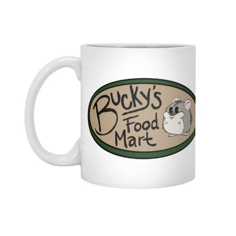 Bucky's Employee shirt Accessories Standard Mug by Augie's Attic
