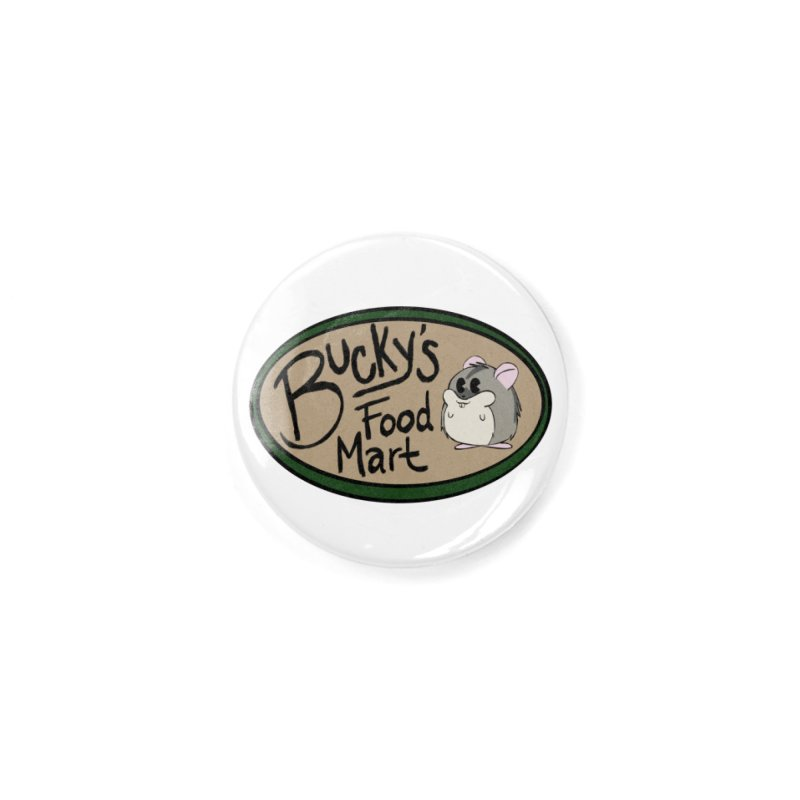 Bucky's Employee shirt Accessories Button by Augie's Attic