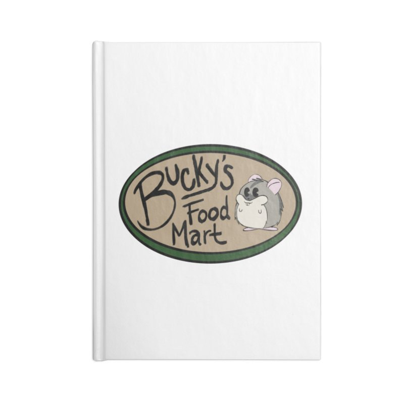 Bucky's Employee shirt Accessories Blank Journal Notebook by Augie's Attic