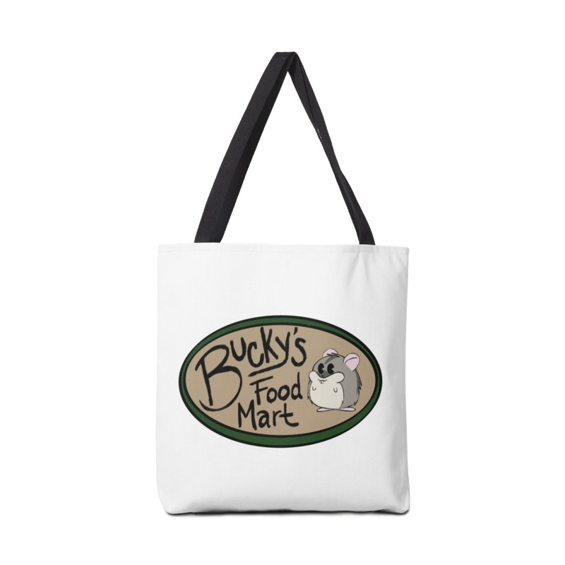 Bucky's Employee shirt Accessories Tote Bag Bag by Augie's Attic
