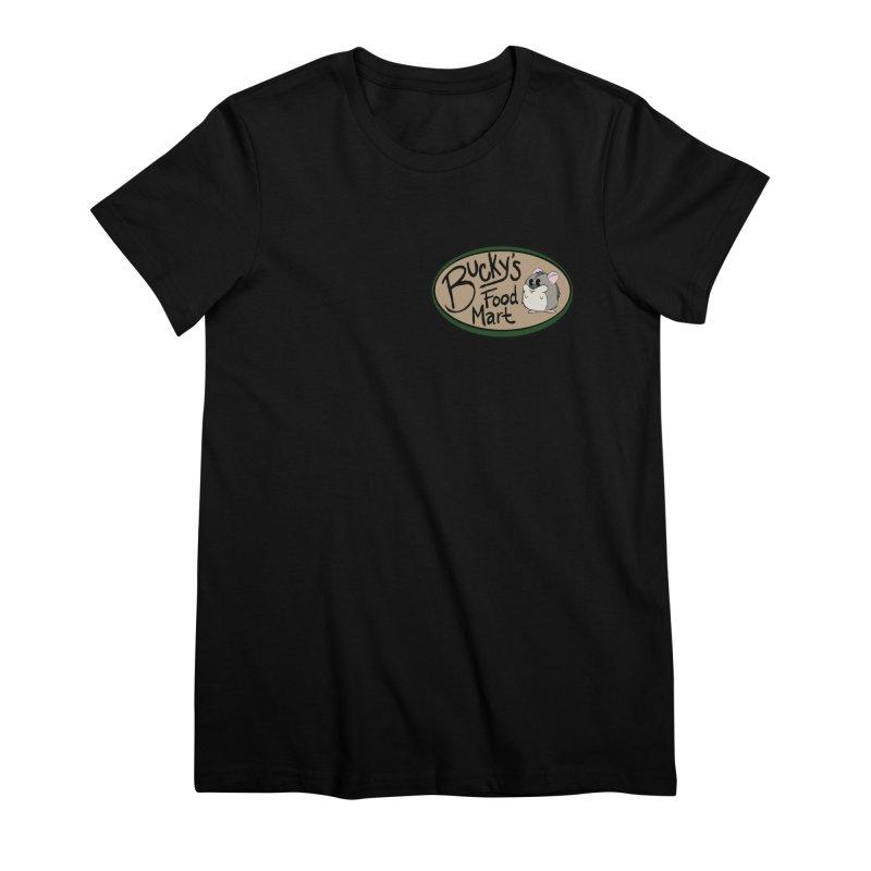 Bucky's Employee shirt Women's Premium T-Shirt by Augie's Attic