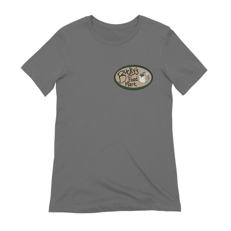 Bucky's Employee shirt Women's Extra Soft T-Shirt by Augie's Attic