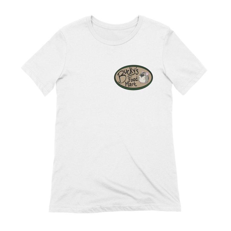 Bucky's Employee shirt Women's Extra Soft T-Shirt by Augie's Attic