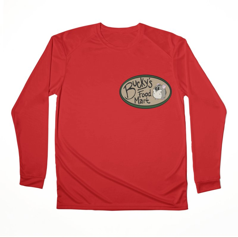 Bucky's Employee shirt Men's Performance Longsleeve T-Shirt by Augie's Attic
