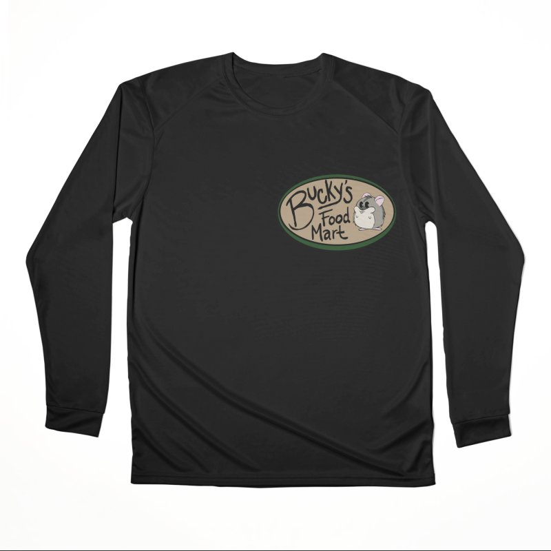 Bucky's Employee shirt Women's Performance Unisex Longsleeve T-Shirt by Augie's Attic