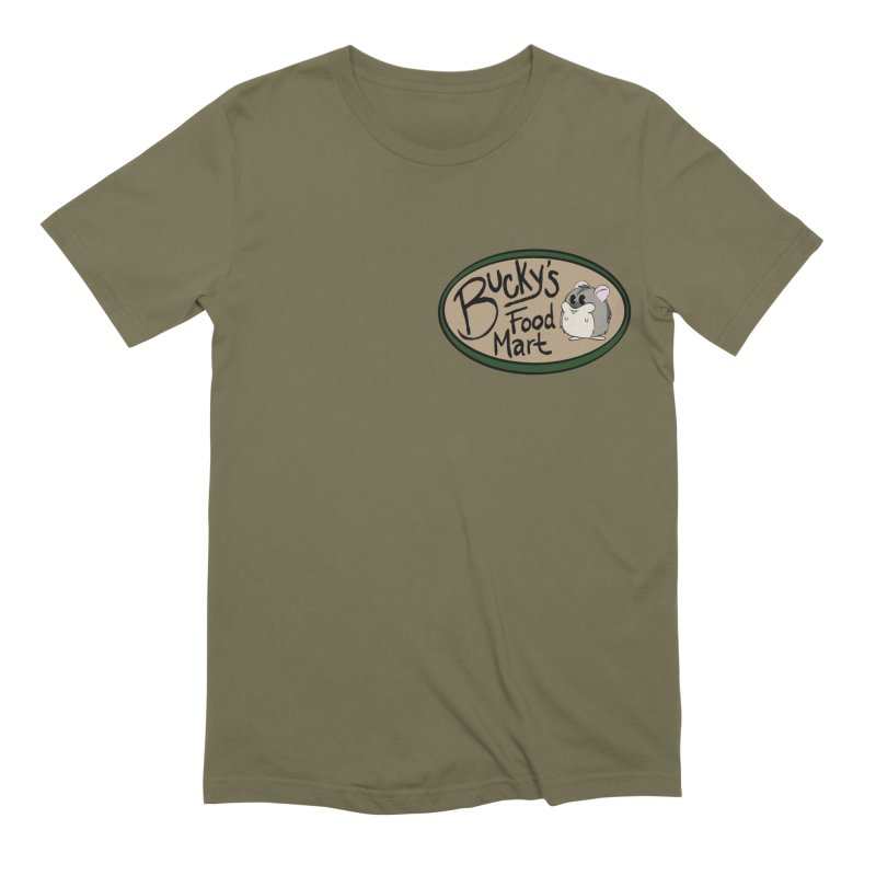 Bucky's Employee shirt Men's Extra Soft T-Shirt by Augie's Attic
