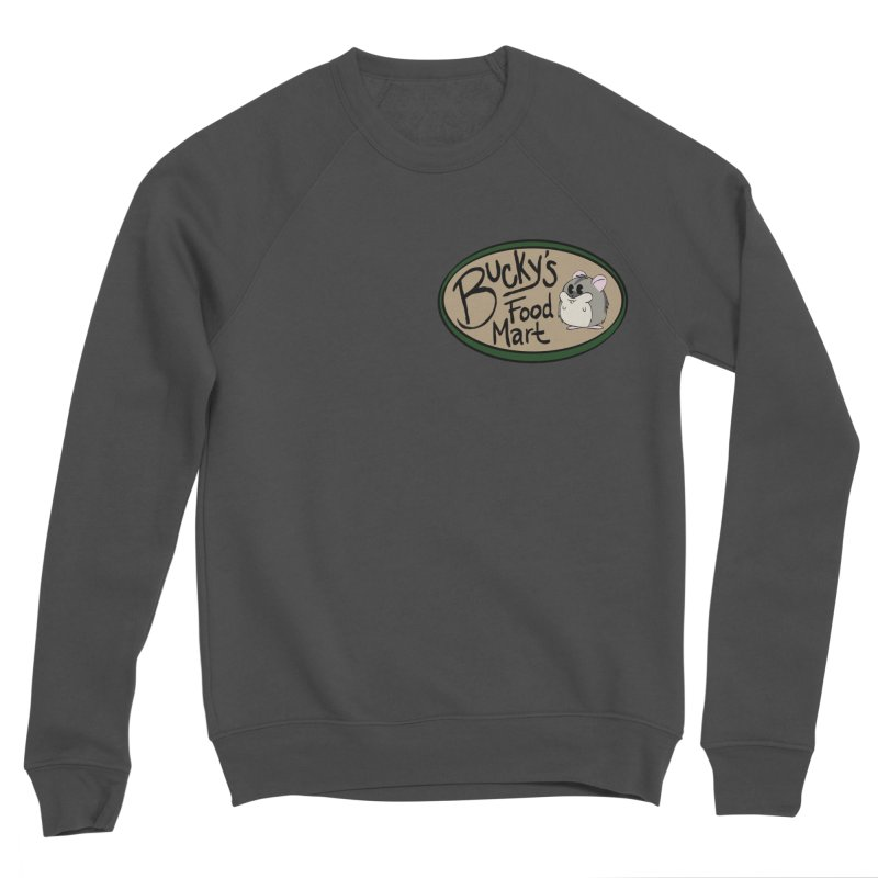 Bucky's Employee shirt Women's Sponge Fleece Sweatshirt by Augie's Attic
