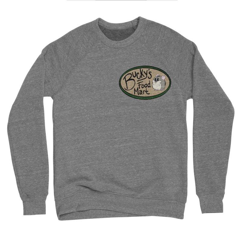 Bucky's Employee shirt Men's Sponge Fleece Sweatshirt by Augie's Attic