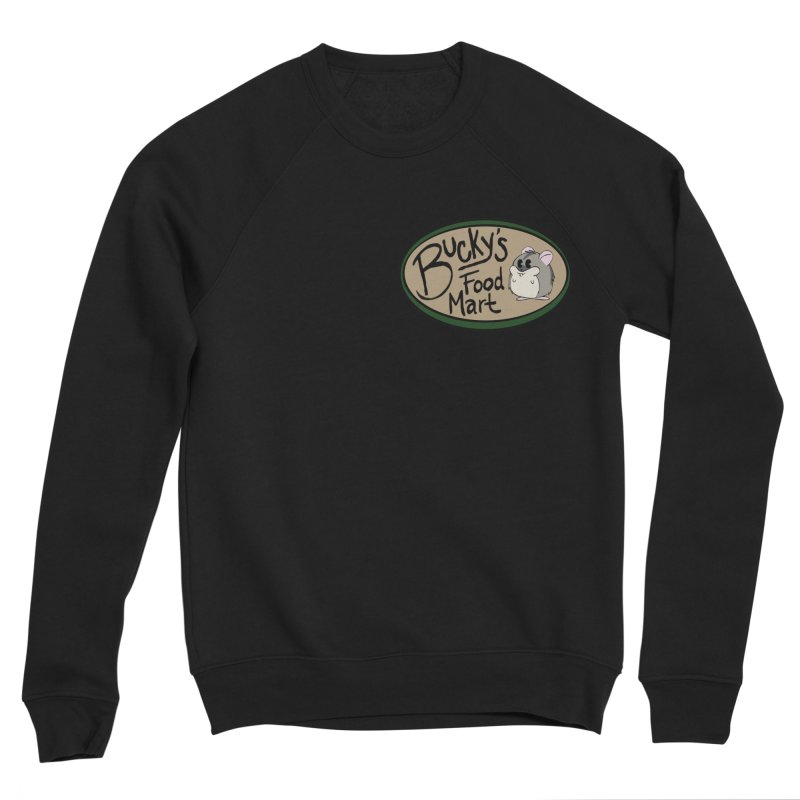 Bucky's Employee shirt Women's Sponge Fleece Sweatshirt by Augie's Attic