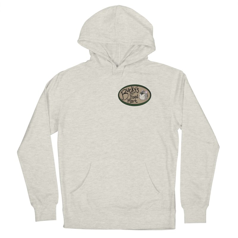Bucky's Employee shirt Men's French Terry Pullover Hoody by Augie's Attic