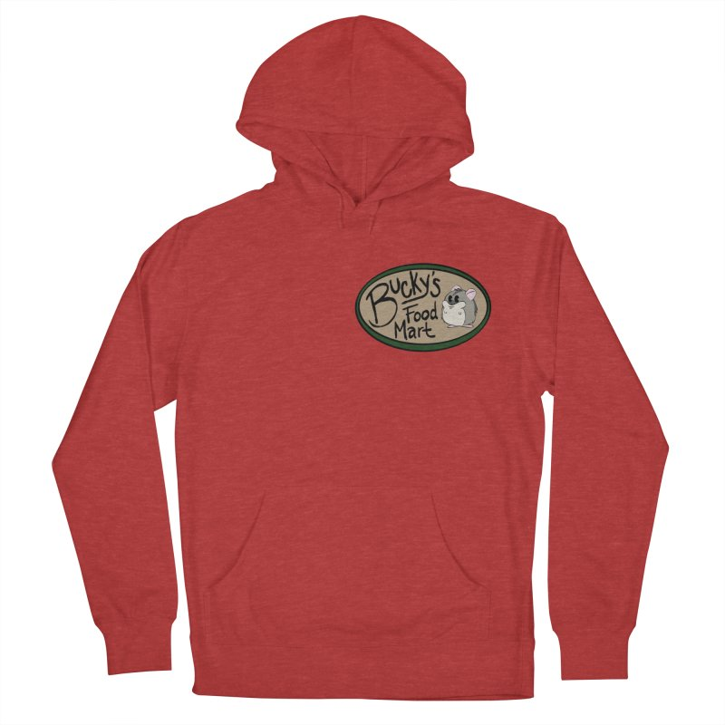 Bucky's Employee shirt Women's French Terry Pullover Hoody by Augie's Attic