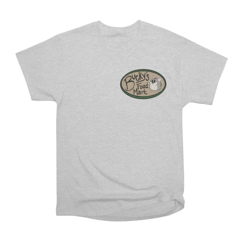Bucky's Employee shirt Women's Heavyweight Unisex T-Shirt by Augie's Attic