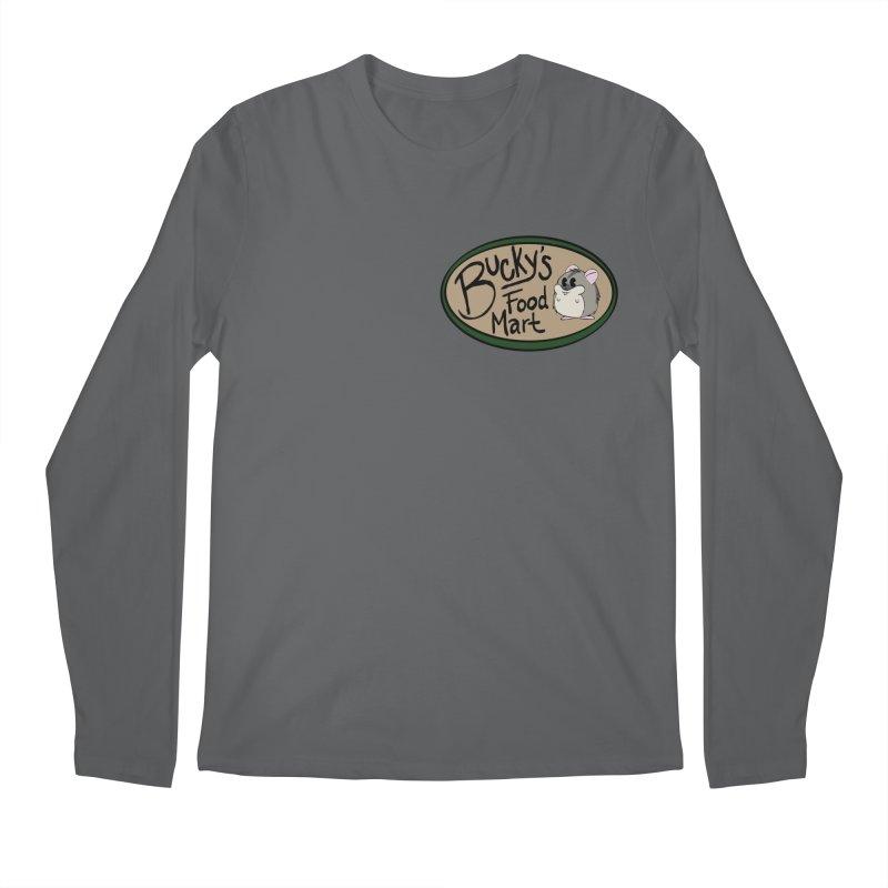 Bucky's Employee shirt Men's Regular Longsleeve T-Shirt by Augie's Attic