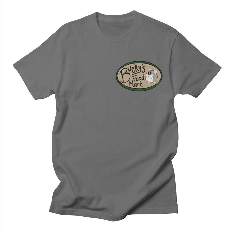 Bucky's Employee shirt Men's T-Shirt by Augie's Attic
