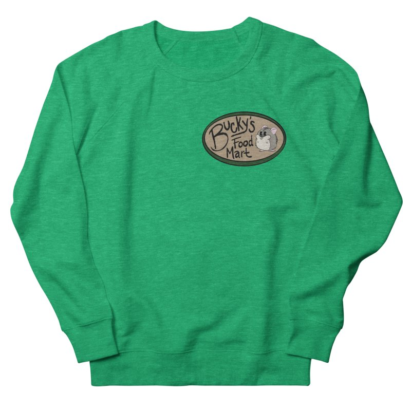 Bucky's Employee shirt Women's French Terry Sweatshirt by Augie's Attic