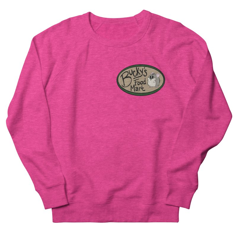 Bucky's Employee shirt Women's French Terry Sweatshirt by Augie's Attic
