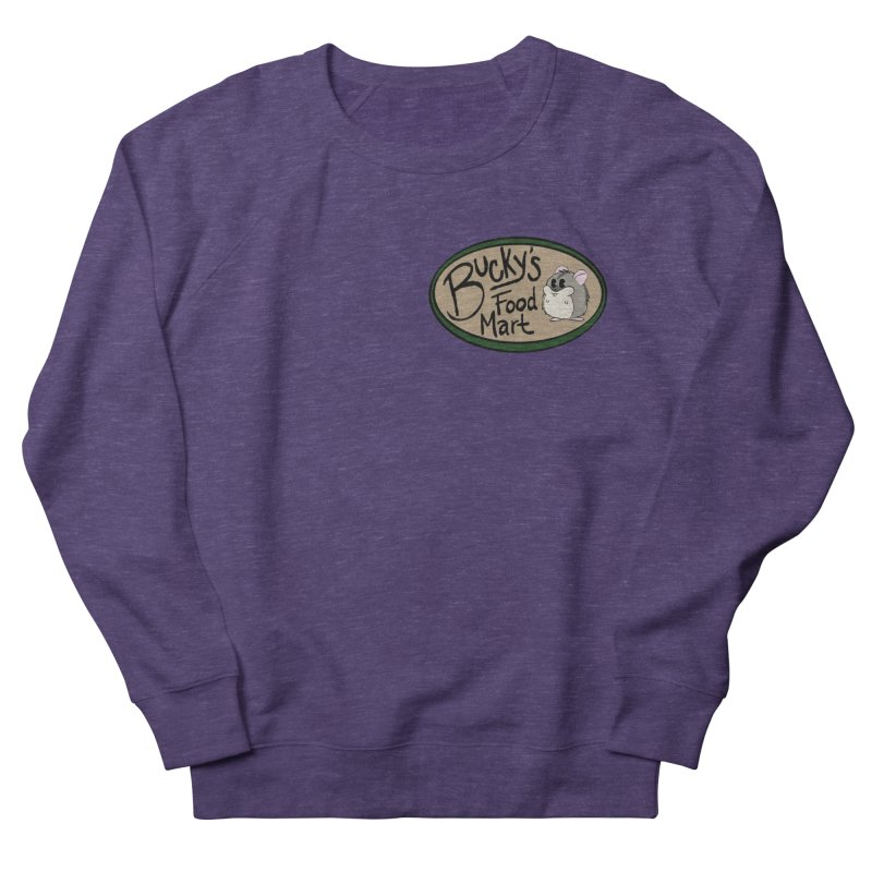 Bucky's Employee shirt Men's French Terry Sweatshirt by Augie's Attic