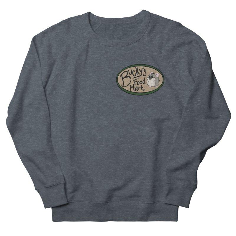Bucky's Employee shirt Men's French Terry Sweatshirt by Augie's Attic
