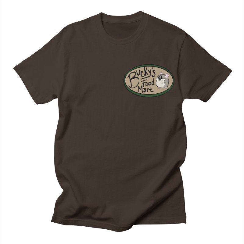 Bucky's Employee shirt Men's Regular T-Shirt by Augie's Attic
