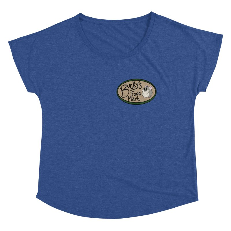 Bucky's Employee shirt Women's Dolman Scoop Neck by Augie's Attic