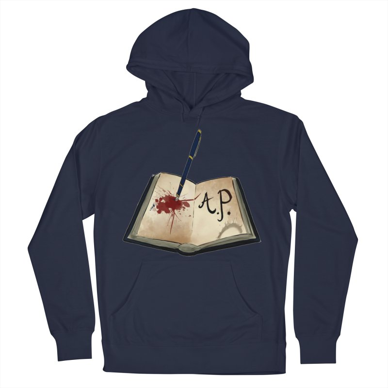 AP Logo ( Designed by Unapologetic Artist) Men's Pullover Hoody by Augie's Attic
