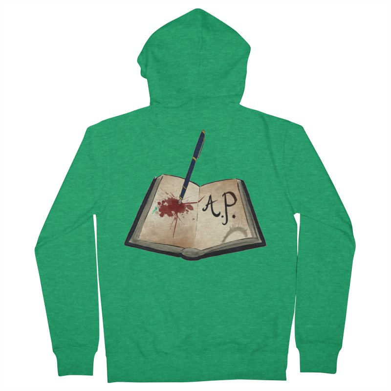 AP Logo ( Designed by Unapologetic Artist) Men's Zip-Up Hoody by Augie's Attic