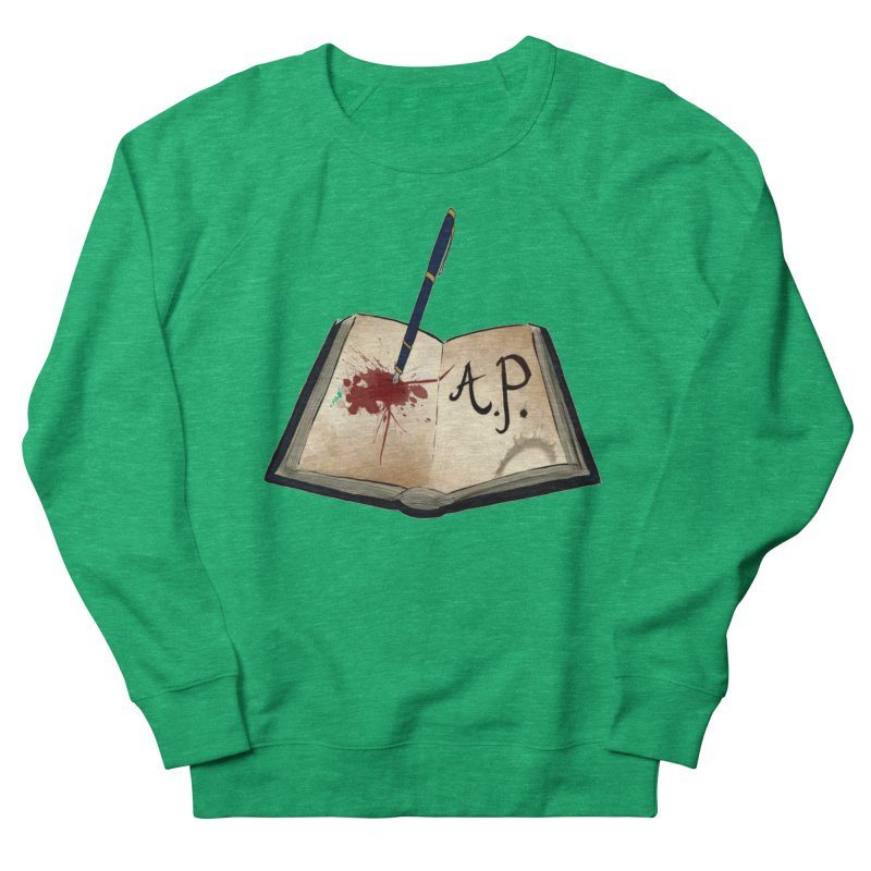 AP Logo ( Designed by Unapologetic Artist) Women's Sweatshirt by Augie's Attic