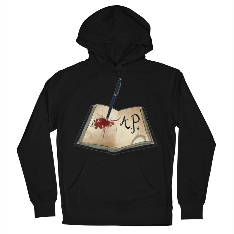 AP Logo ( Designed by Unapologetic Artist) Women's French Terry Pullover Hoody by Augie's Attic