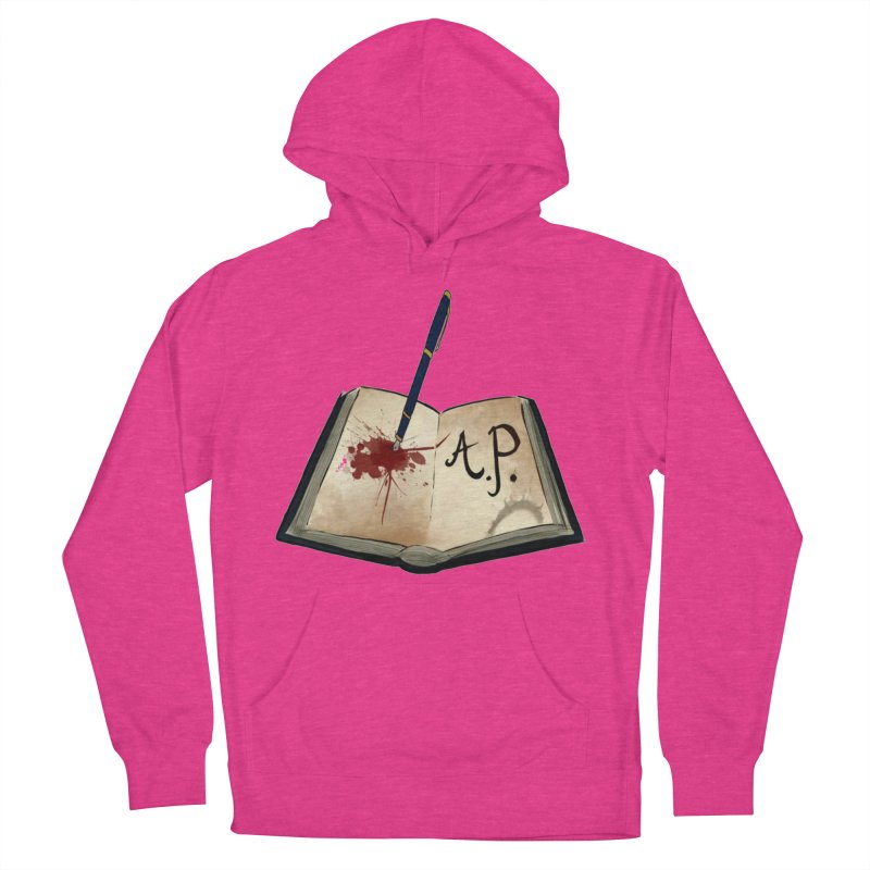 AP Logo ( Designed by Unapologetic Artist) Men's French Terry Pullover Hoody by Augie's Attic