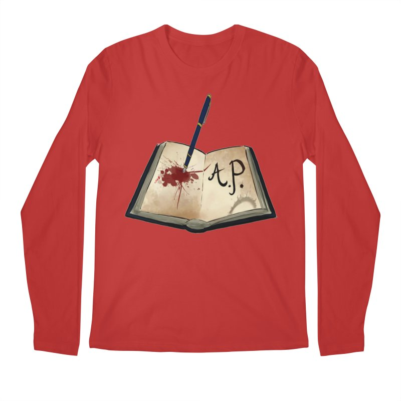 AP Logo ( Designed by Unapologetic Artist) Men's Regular Longsleeve T-Shirt by Augie's Attic